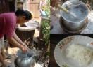 ขั้นตอนการผลิตเส้นขนมจีน จากแป้งหมักขนมจีน พศช.